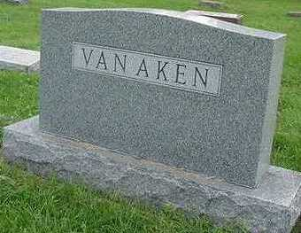 VANAKEN, HEADSTONE - Sioux County, Iowa | HEADSTONE VANAKEN