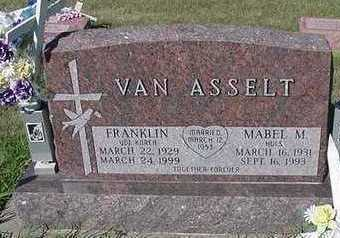 VANASSELT, FRANKLIN - Sioux County, Iowa | FRANKLIN VANASSELT
