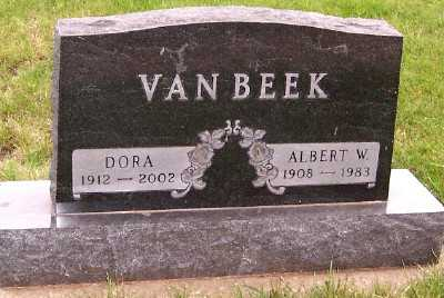 VANBEEK, DORA - Sioux County, Iowa | DORA VANBEEK