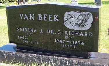 VANBEEK, NELVINA J. - Sioux County, Iowa | NELVINA J. VANBEEK