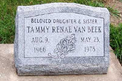 VANBEEK, TAMMY RENAE - Sioux County, Iowa | TAMMY RENAE VANBEEK