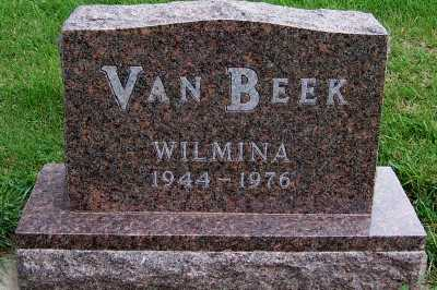 VANBEEK, WILMINA - Sioux County, Iowa | WILMINA VANBEEK
