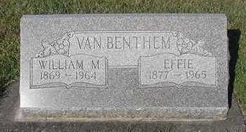 VANBENTHEM, WILLIAM - Sioux County, Iowa | WILLIAM VANBENTHEM