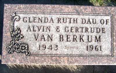 VANBERKUM, GLENDA RUTH - Sioux County, Iowa | GLENDA RUTH VANBERKUM