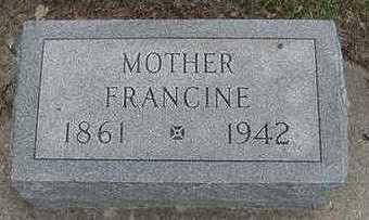 VANCITTERS, FRANCINE  D.1942 - Sioux County, Iowa | FRANCINE  D.1942 VANCITTERS