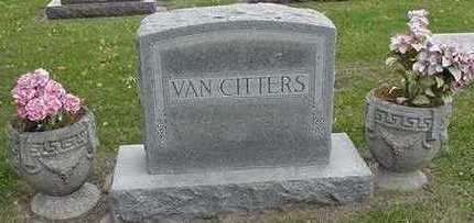 VANCITTERS, HEADSTONE - Sioux County, Iowa | HEADSTONE VANCITTERS