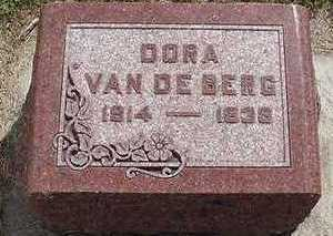 VANDEBERG, DORA - Sioux County, Iowa | DORA VANDEBERG