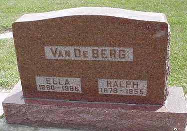 VANDEBERG, RALPH - Sioux County, Iowa | RALPH VANDEBERG
