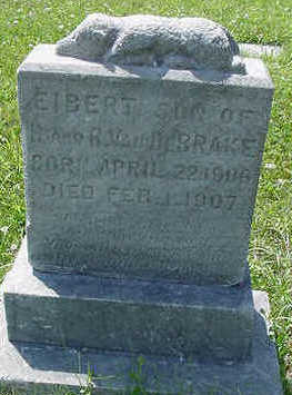 VANDEBRAKE, EIBERT, SON OF H.&R. - Sioux County, Iowa | EIBERT, SON OF H.&R. VANDEBRAKE