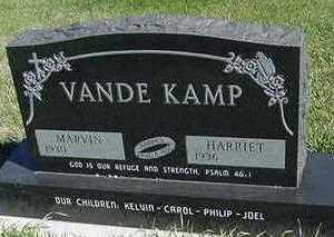 VANDEKAMP, HARRIET (MRS. MARVIN) - Sioux County, Iowa | HARRIET (MRS. MARVIN) VANDEKAMP