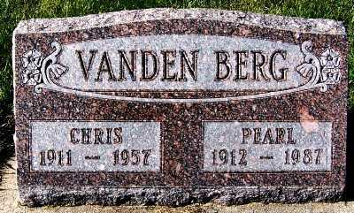 VANDENBERG, PEARL - Sioux County, Iowa | PEARL VANDENBERG