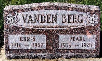 VANDENBERG, CHRIS - Sioux County, Iowa | CHRIS VANDENBERG