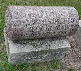 VANDENBERG, JOHANNA - Sioux County, Iowa | JOHANNA VANDENBERG