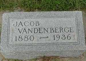 VANDENBERGE, JACOB - Sioux County, Iowa | JACOB VANDENBERGE