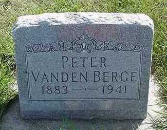 VANDENBERGE, PETER - Sioux County, Iowa | PETER VANDENBERGE