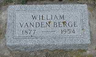VANDENBERGE, WILLIAM - Sioux County, Iowa | WILLIAM VANDENBERGE