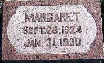 VANDENBOSCH, MARGARET - Sioux County, Iowa | MARGARET VANDENBOSCH