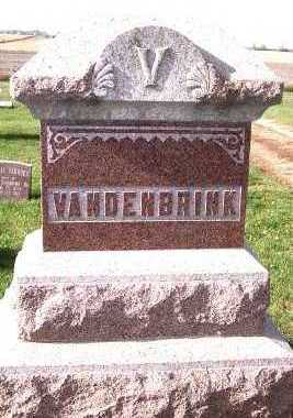 VANDENBRINK, FAMILY HEADSTONE - Sioux County, Iowa | FAMILY HEADSTONE VANDENBRINK