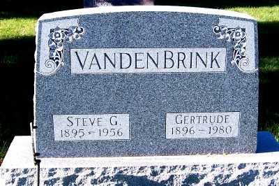 VANDENBRINK, GERTRUDE - Sioux County, Iowa | GERTRUDE VANDENBRINK