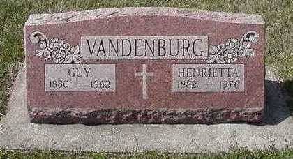 VANDENBURG, GUY - Sioux County, Iowa | GUY VANDENBURG