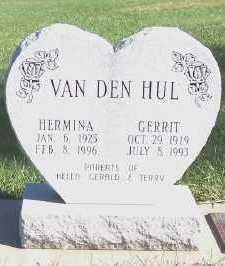 VANDENHUL, HERMINA - Sioux County, Iowa | HERMINA VANDENHUL