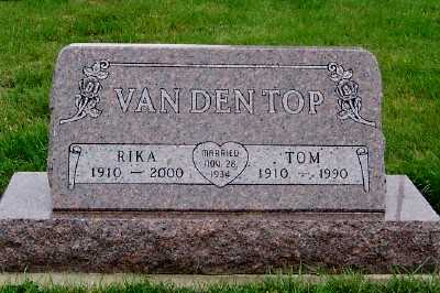 VANDENTOP, TOM - Sioux County, Iowa | TOM VANDENTOP