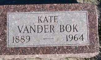 VANDERBOK, KATE - Sioux County, Iowa | KATE VANDERBOK