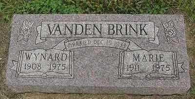 VANDERBRINK, WYNARD - Sioux County, Iowa | WYNARD VANDERBRINK