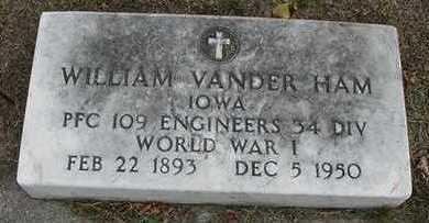 VANDERHAM, WILLIAM D.1950 - Sioux County, Iowa | WILLIAM D.1950 VANDERHAM