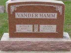 VANDERHAMM, AUGUST - Sioux County, Iowa | AUGUST VANDERHAMM