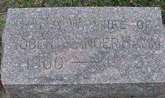 VANDERHAMM, EDNA W. (MRS. ROBERT) - Sioux County, Iowa | EDNA W. (MRS. ROBERT) VANDERHAMM