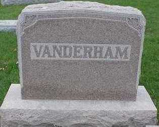 VANDERHAMM, HEADSTONE - Sioux County, Iowa | HEADSTONE VANDERHAMM