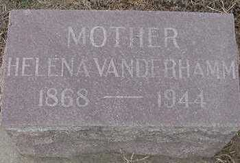 VANDERHAMM, HELENA (MOTHER) - Sioux County, Iowa | HELENA (MOTHER) VANDERHAMM