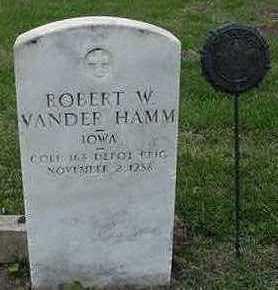 VANDERHAMM, ROBERT W. - Sioux County, Iowa | ROBERT W. VANDERHAMM