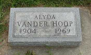 VANDERHOOP, ALYDA - Sioux County, Iowa | ALYDA VANDERHOOP