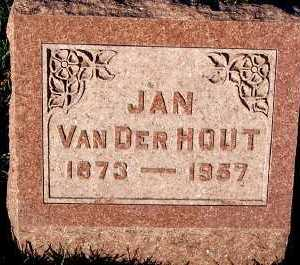 VANDERHOUT, JAN - Sioux County, Iowa | JAN VANDERHOUT
