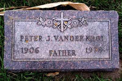 VANDERKOOI, PETER J. - Sioux County, Iowa | PETER J. VANDERKOOI