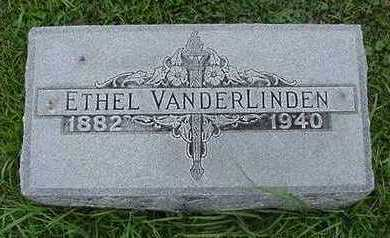 VANDERLINDEN, ETHEL - Sioux County, Iowa | ETHEL VANDERLINDEN