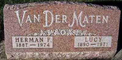 VANDERMATEN, HERMAN F. - Sioux County, Iowa | HERMAN F. VANDERMATEN