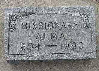 VANDERMEER, ALMA - Sioux County, Iowa | ALMA VANDERMEER