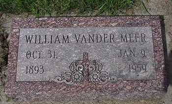 VANDERMEER, WILLIAM - Sioux County, Iowa | WILLIAM VANDERMEER