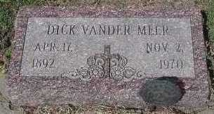 VANDERMEER, DICK - Sioux County, Iowa | DICK VANDERMEER
