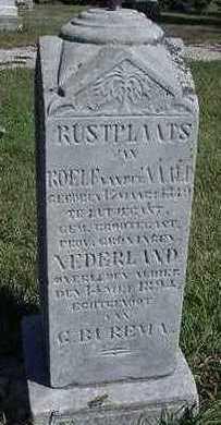 BUREMA VANDERNAALD, G. (MRS. ROELF) - Sioux County, Iowa | G. (MRS. ROELF) BUREMA VANDERNAALD