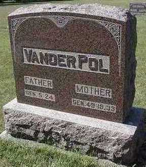 VANDERPOL, HEADSTONE - Sioux County, Iowa | HEADSTONE VANDERPOL