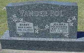 VANDERPOL, JOHANNA (HARRY) - Sioux County, Iowa | JOHANNA (HARRY) VANDERPOL