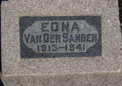 VANDERSANDEN, EDNA - Sioux County, Iowa | EDNA VANDERSANDEN
