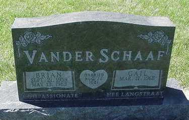 VANDERSCHAAF, BRIAN - Sioux County, Iowa | BRIAN VANDERSCHAAF