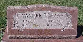 VANDER SCHAAF, GERTRUDE (MRS. GERRIT) - Sioux County, Iowa | GERTRUDE (MRS. GERRIT) VANDER SCHAAF