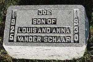 VANDERSCHAAF, JOE - Sioux County, Iowa | JOE VANDERSCHAAF