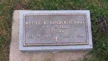VANDERSCHAAF, RUSSEL K. - Sioux County, Iowa | RUSSEL K. VANDERSCHAAF